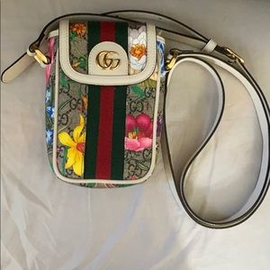 Gucci Supreme Canvas Shoulder Bag Ophidia